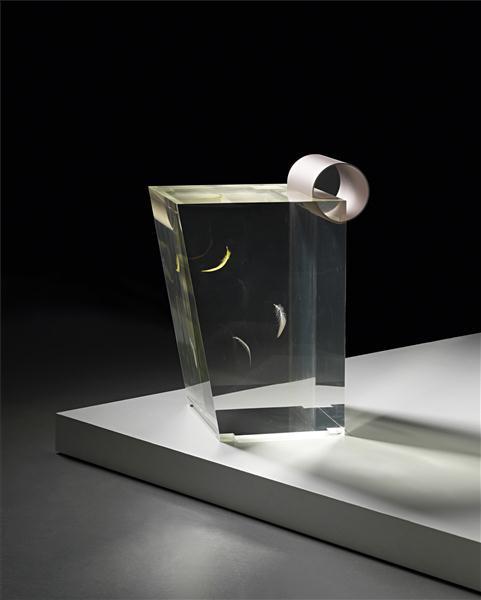 Acrylic Stool by Shiro Kuramata