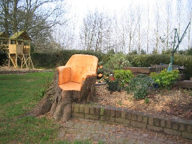 Wonderful After The Tree Fell Armchair.