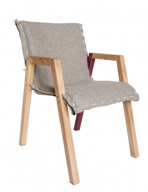 Ambrozijn Chair by Melle Koot