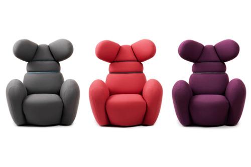 Bunnie Chairs by Iskos Berlin