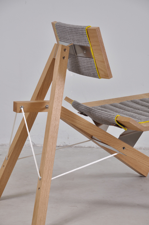 Chair 2011 by Lotty Lindeman and Wouter Scheublin detail