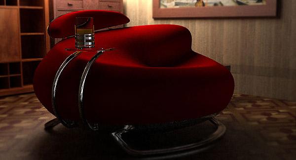 Havana Lounge Chair by Velicko Velikov