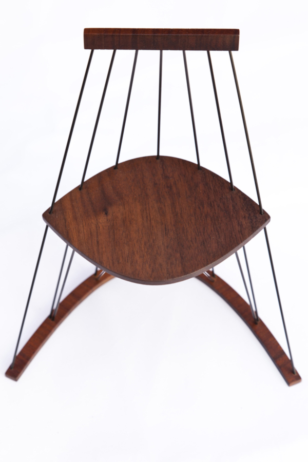 Madeleine Chair by Mario Caponnetto Front