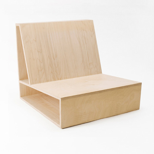 Plywood Chair by Pierre Thibault