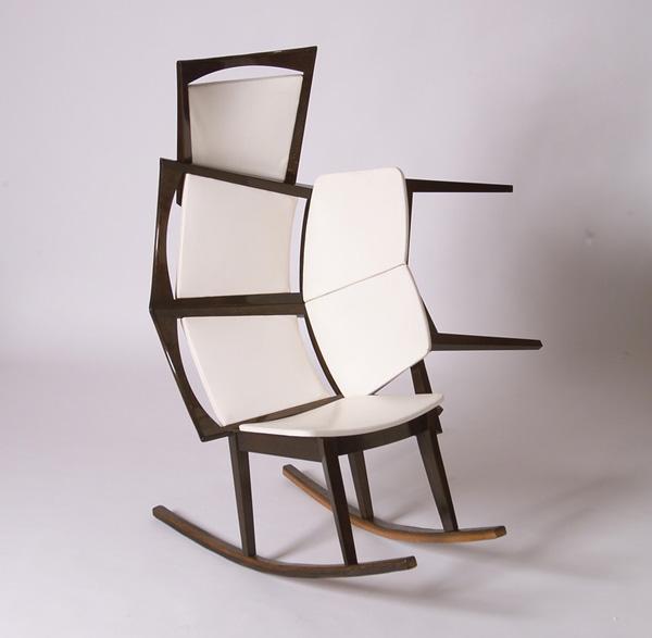 Rocking Cha Cha Chair by Helmut Palla