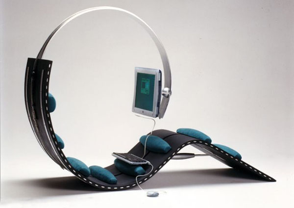 SURF CHAIR by Kenneth Lylover and Leif Sørensen