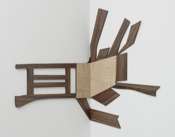 Splatter Chair 1 by Richard Artschwager