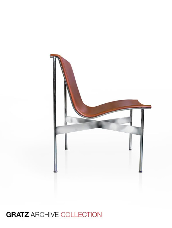TG12 Sling Side Chair  by William Katavolos, Ross Littell and Douglas Kelly