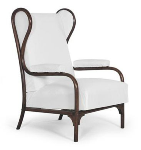 Rare Thonet Wing Chair