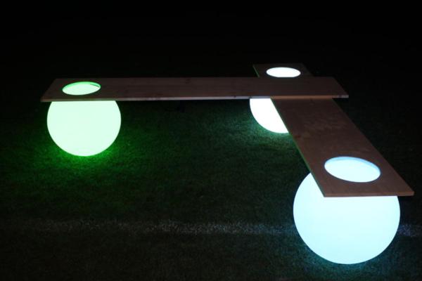 Light Ball Bench by Manfred Kielnhofer