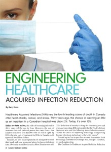 Engineering Healthcare Acquired Infection Reduction