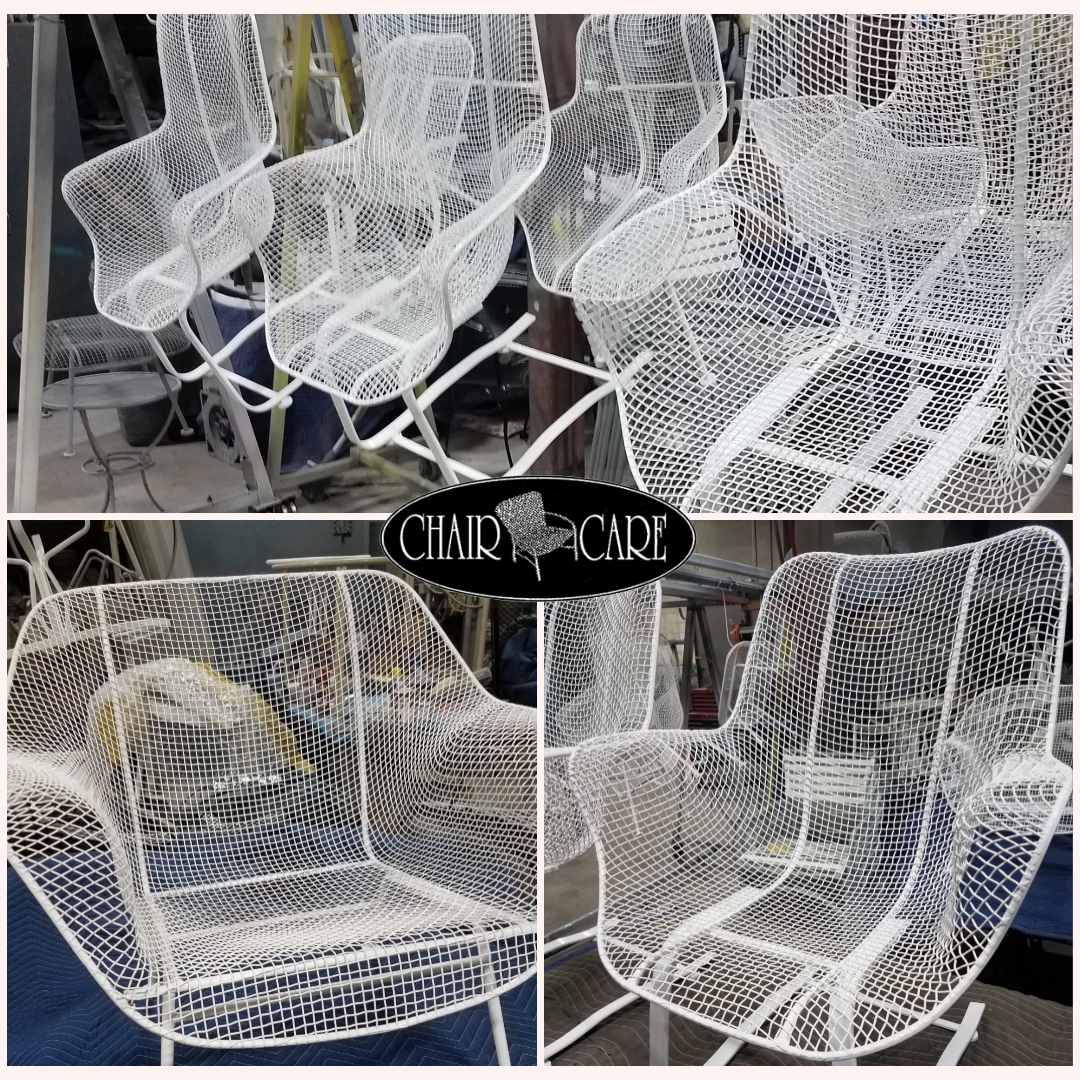 Metal Frame Refinishing - Chair