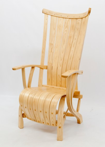Highback Armchair Ash