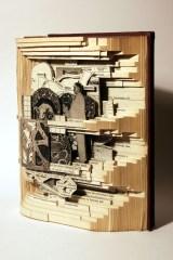 Escultura em Livros!