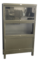 1910s Mid Century Modern General Fireproofing Company Bookcase