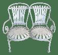 Art Deco Garden Bench Chairish