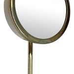 Hollywood Regency Gold Lighted Vanity Mirror Chairish