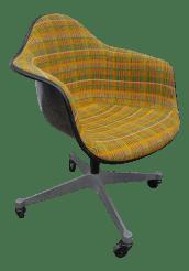 Vintage Herman Miller Rolling Shell Desk Chair Dat 1 Chairish