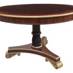 Traditional 48 Inch Round Dining Table Chairish