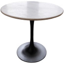 Mid Century Modern End Table With Marble Top Chairish