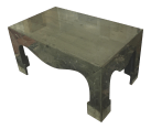 Chinoiserie Style Distressed Mirror Table Chairish