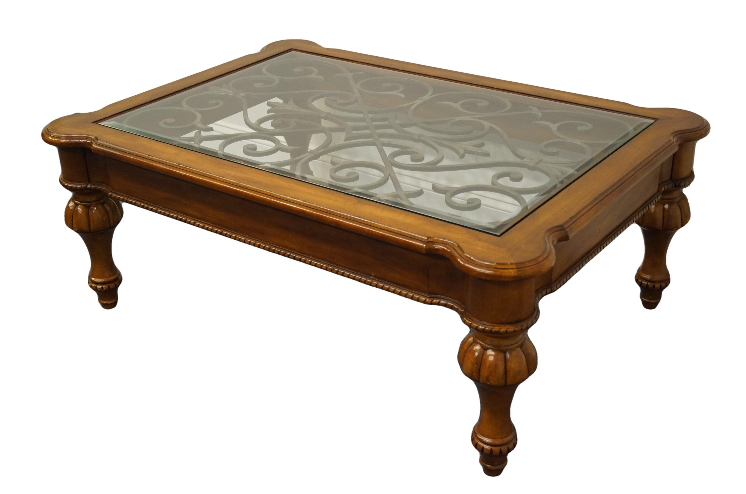 tuscan style coffee table