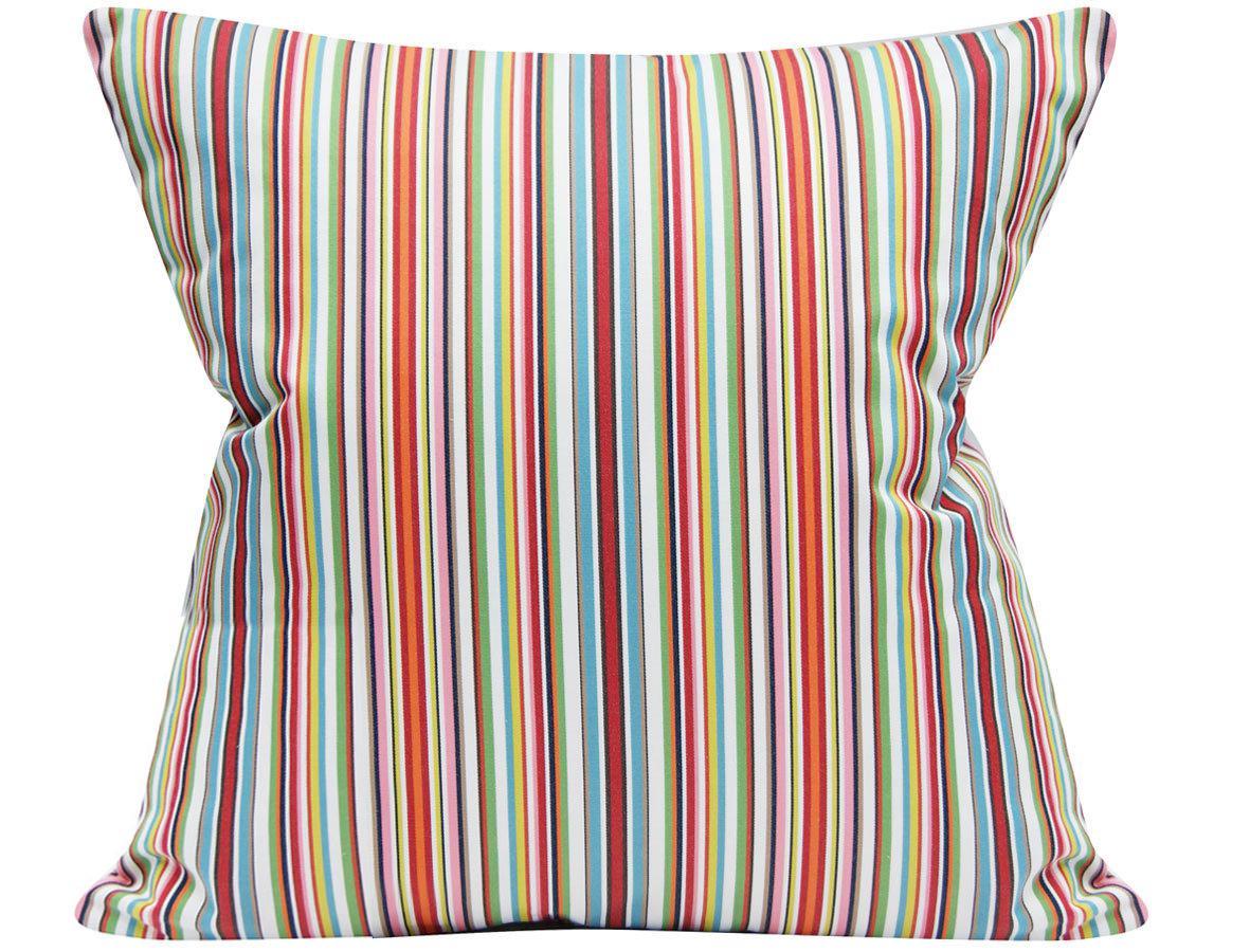 modern multi color striped cotton decorative pillow cover 20x20