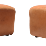 De Sede Ds Cognac Leather Ottoman Chairish