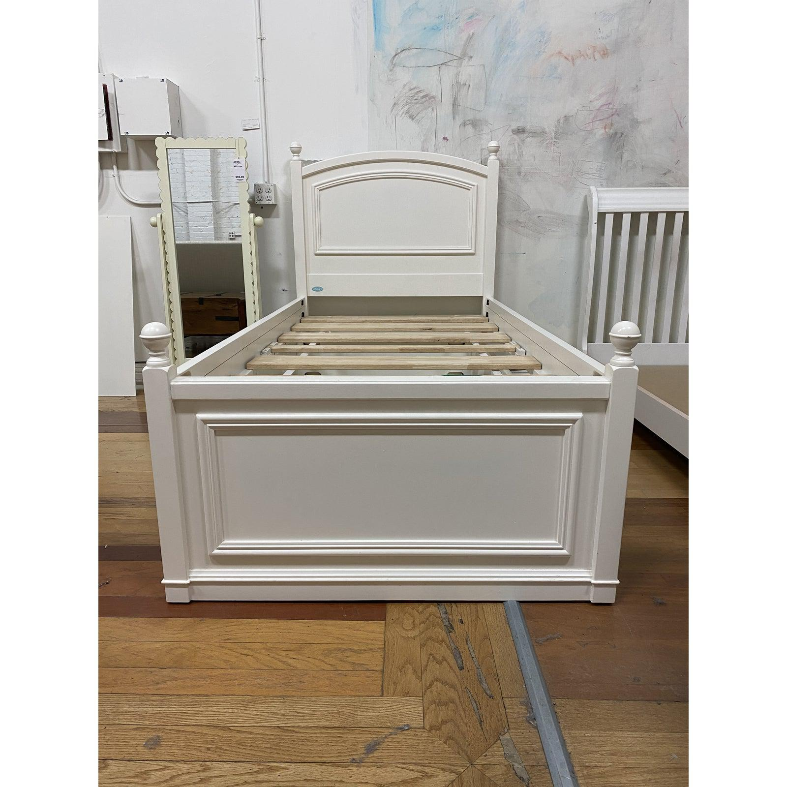 cafe kids twin size trundle bed frame