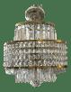 Mid Century Modern Original Waterford Crystal Chandelier Chairish