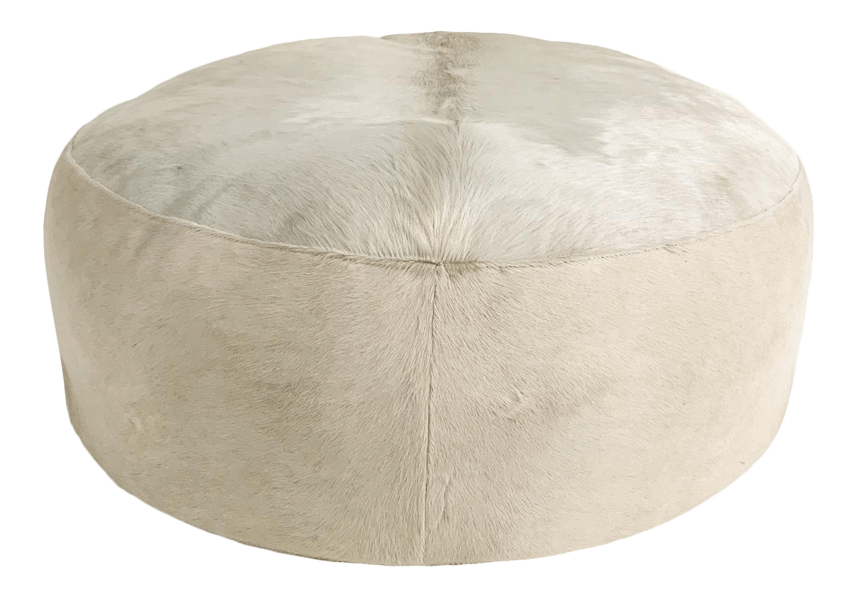 vintage new round ottomans for sale