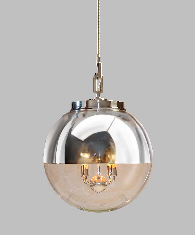 urban electric co globus pendant light