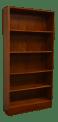 Mid Century Modern Walnut Bookcase