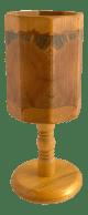 Mid Century Scandinavian Swedish Wood Table Lamp Chairish