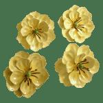 Vintage Flower Tole Napkin Rings Set Of 4 Chairish