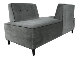Modern Mohair Double Sided Sofa