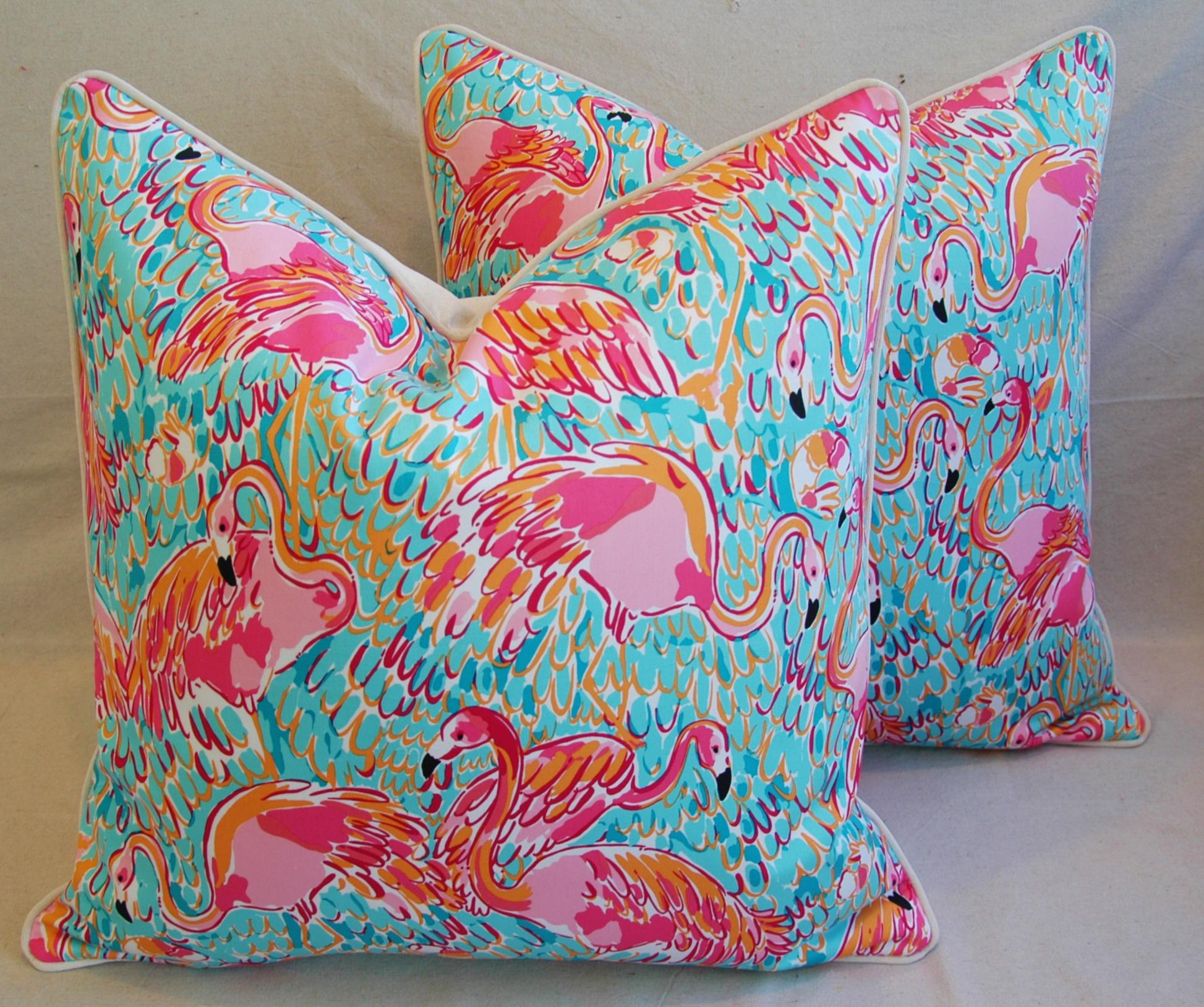24 X 24 Lilly Pulitzer InspiredStyle Tropical Pink