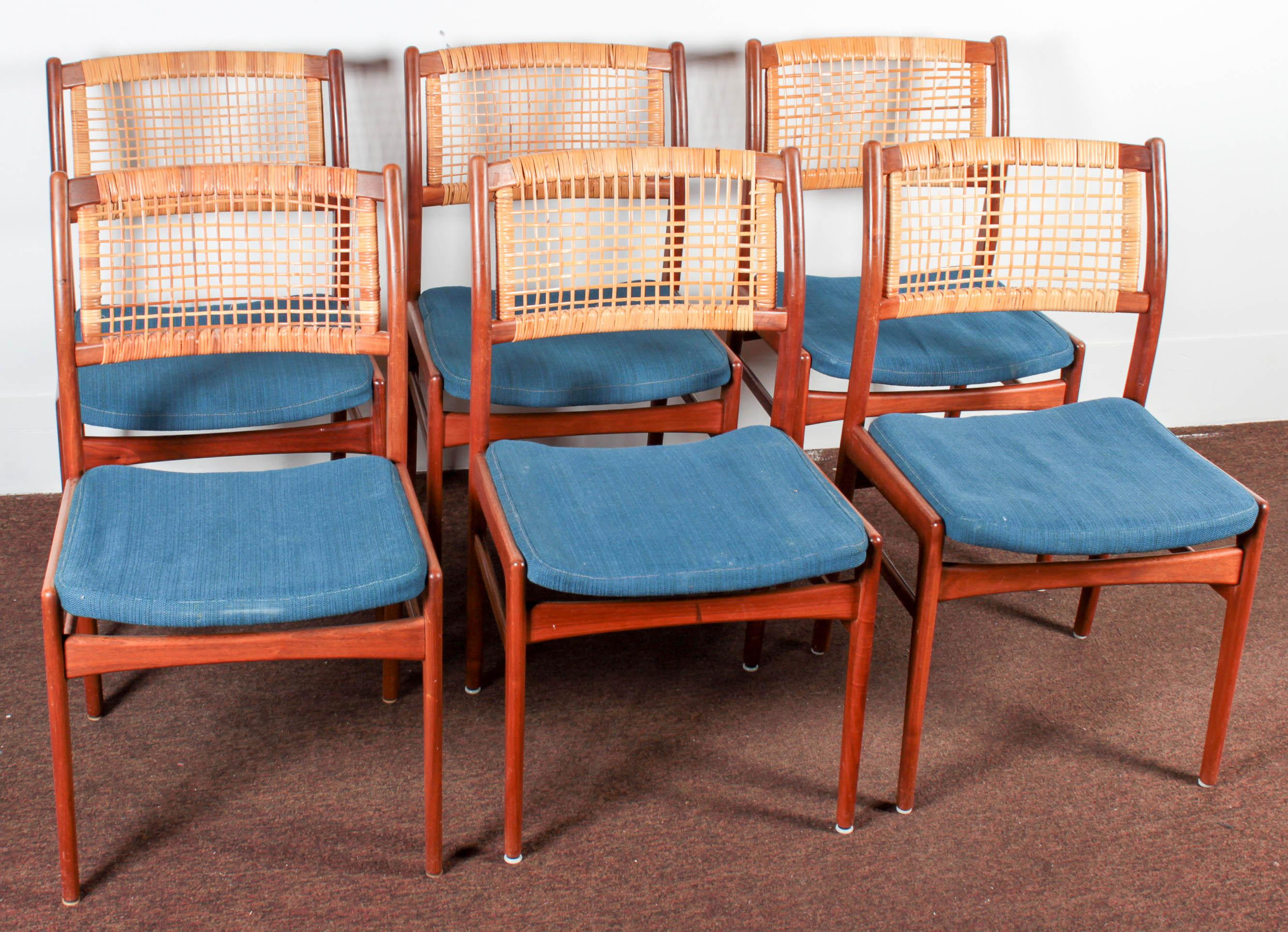 Refinish Rattan Dining Chairs