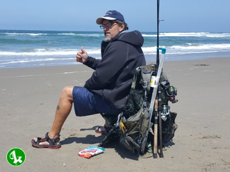 Chair-Pak + Surf Fishing