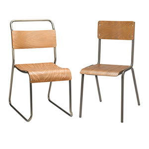 Vintage chairs. Industrial and Leisure seating