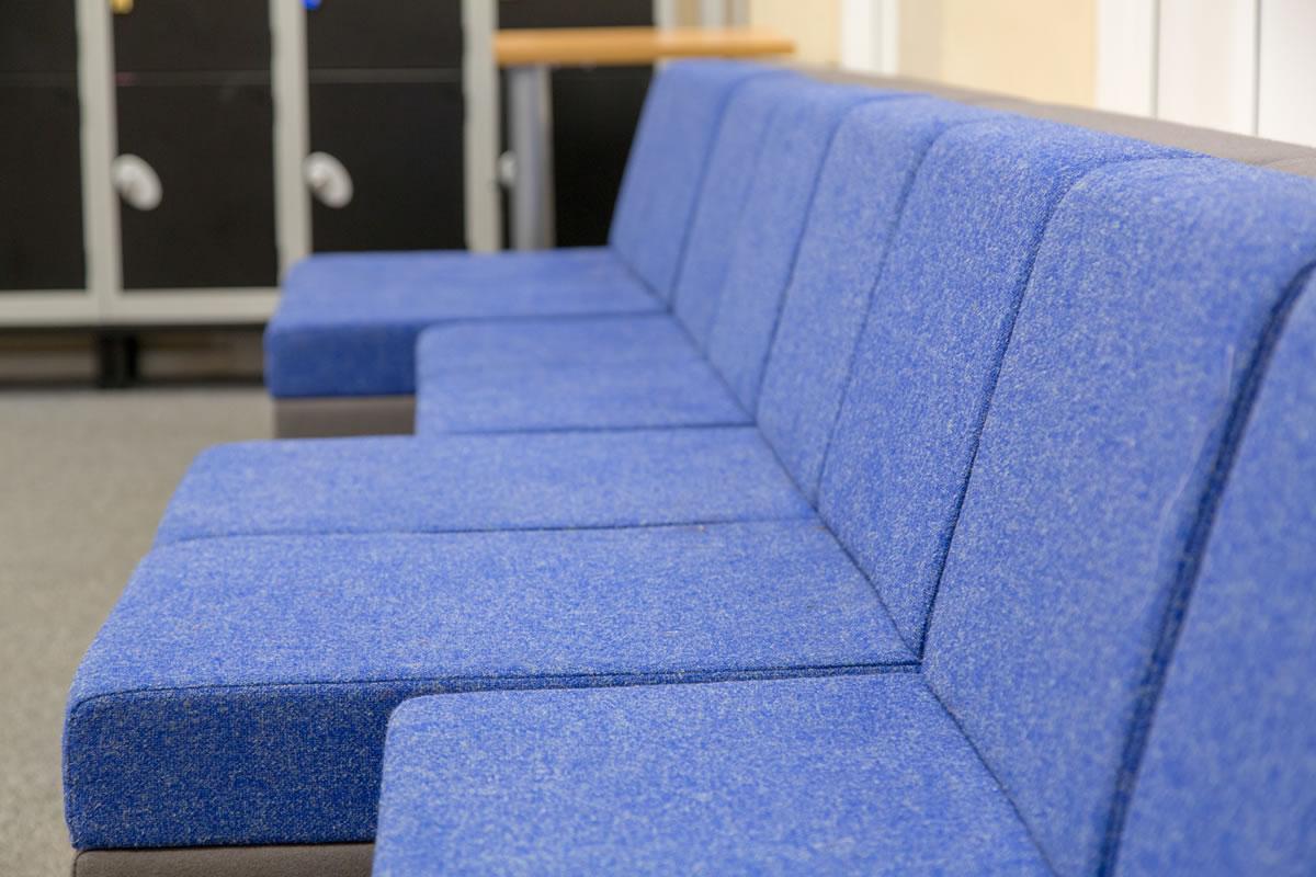 Bespoke school soft furniture