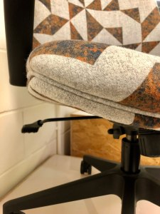 Piping on Bosco commercial office chair