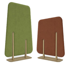 Forest acoustic panels