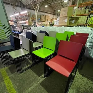 2000 chairs manufactured and delivered
