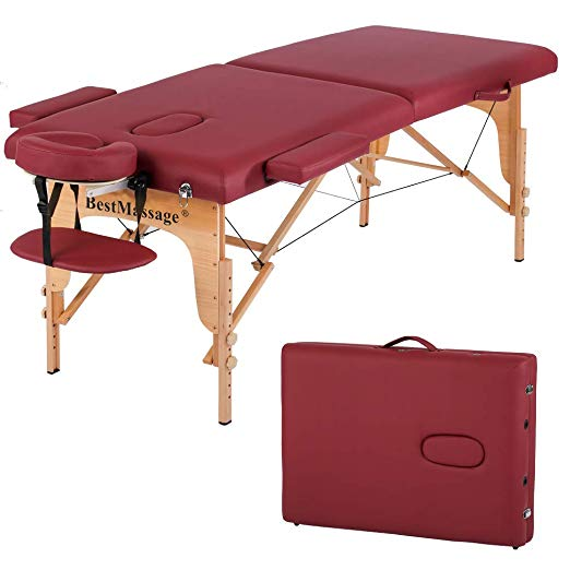 BestMassage Two-Fold Massage Table