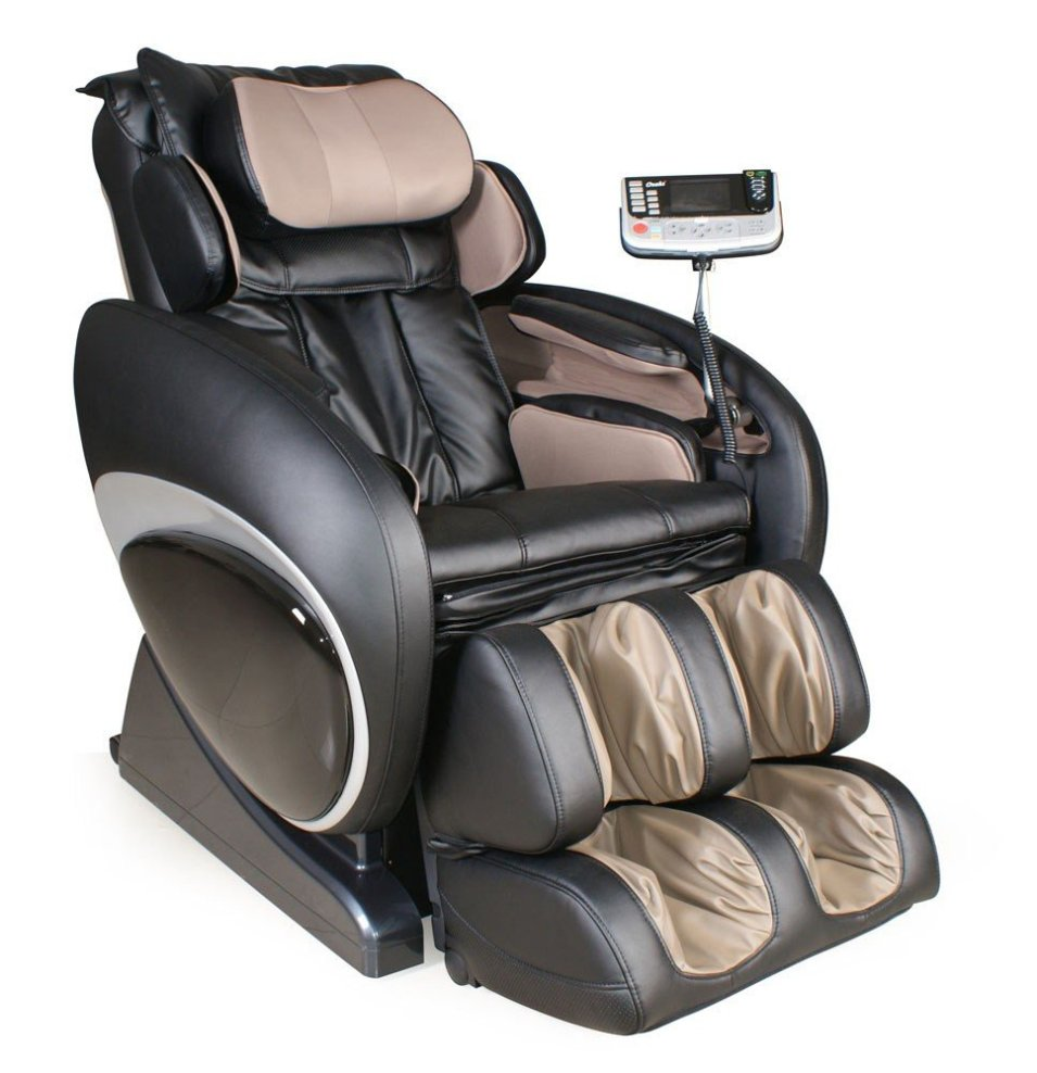 Osaki Black-Beige Shiatsu Massage Chair (OS-4000)