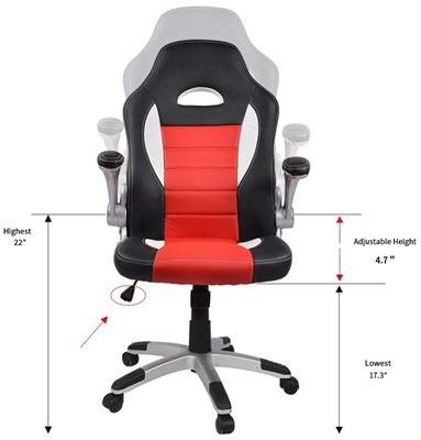 homall-ergonomic-chair-affordable-gaming-chairs