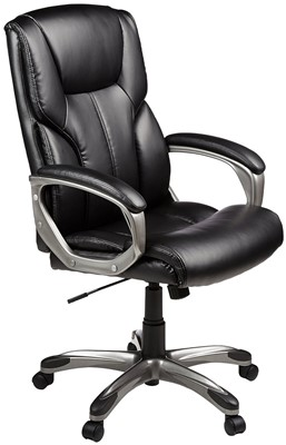 amazon-basics-high-back-best-affordable-office-chairs-for-back-pain
