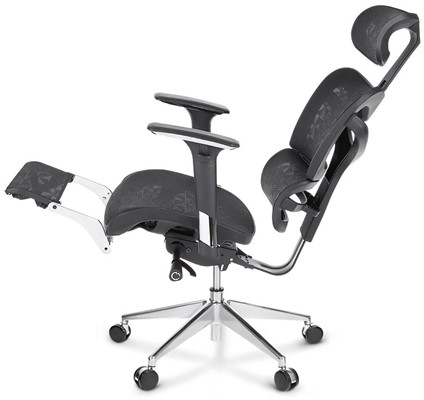 iKayaa Swivel Computer Chair - High back desk chair