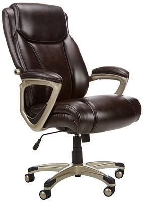 AmazonBasics Big & Tall Executive Chair - computer chairs for fat guys
